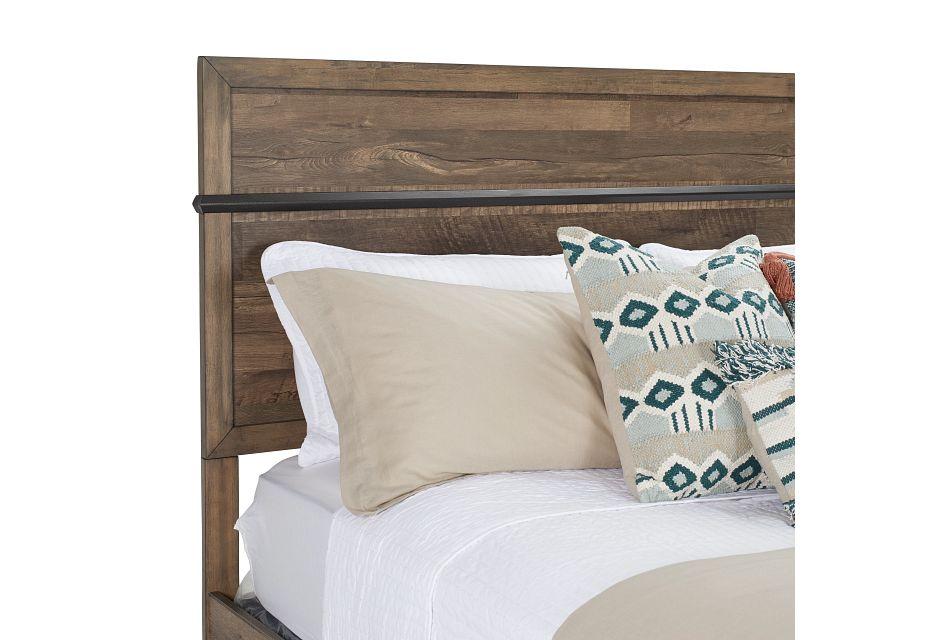 Boulder Mid Tone Panel Bed