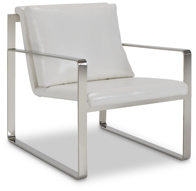 Roslin White Uph Accent Chair (1)