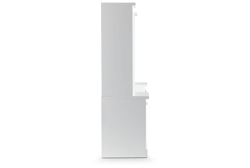 """Newport White 106"""" Door Entryway"""