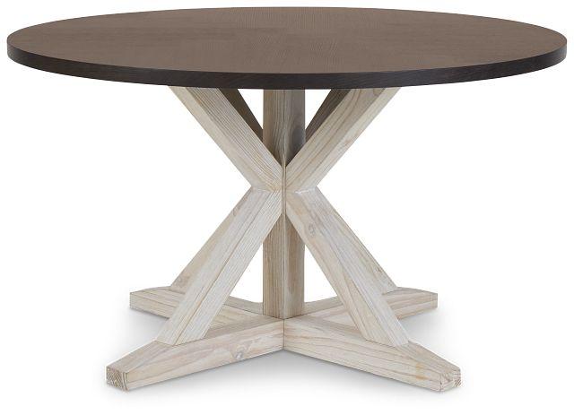 Jefferson Two-tone Round Table (3)