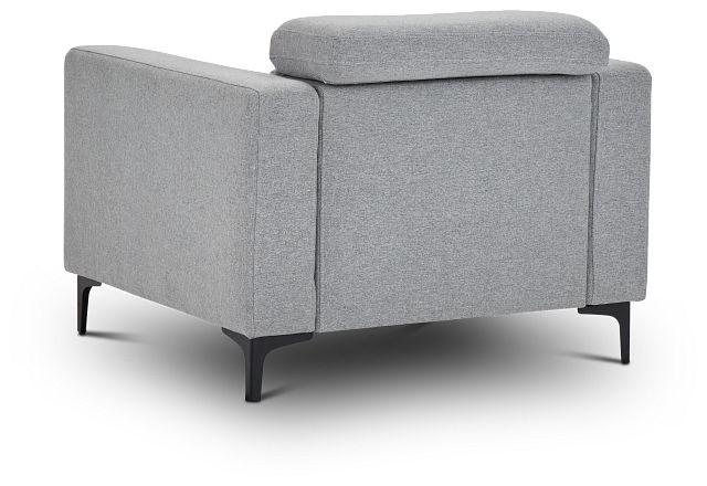Trenton Light Gray Fabric Chair
