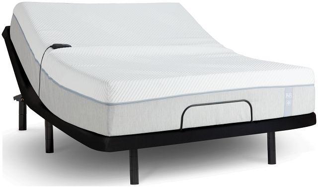 "Rest & Renew Memory Foam 12"" Bronze Adjustable Mattress Set (1)"