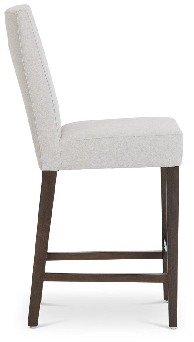 """Stout Light Gray 24"""" Upholstered Barstool (2)"""