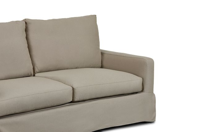 Bree Khaki Fabric Innerspring Sleeper