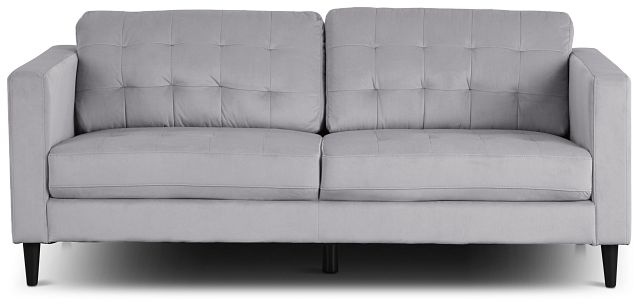 Shae Light Gray Micro Sofa (1)