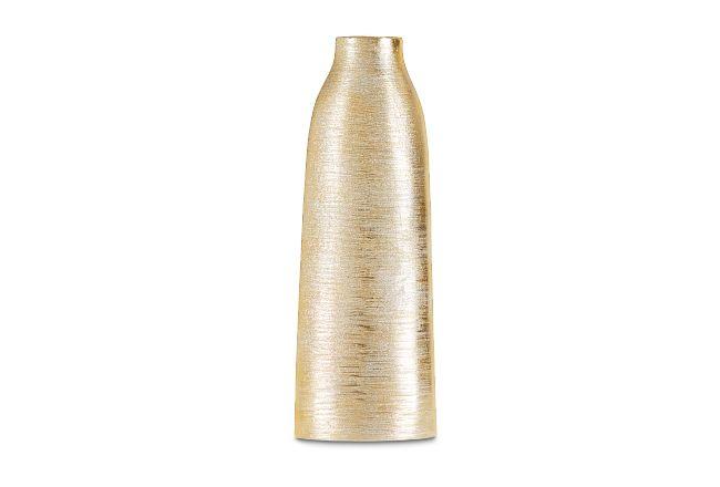 Jalen Gold Large Vase