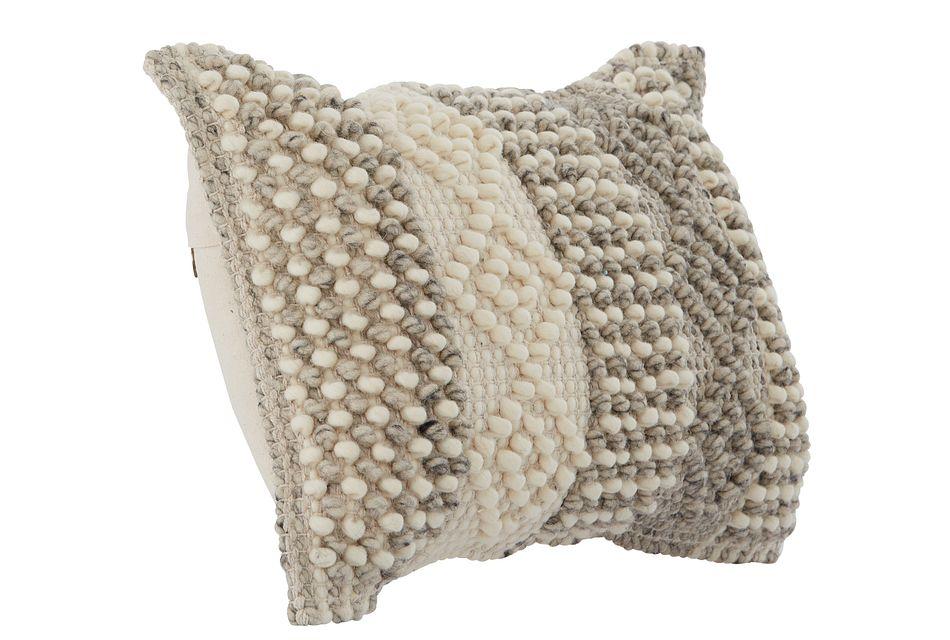 """Alexa Gray 21"""" Accent Pillow"""