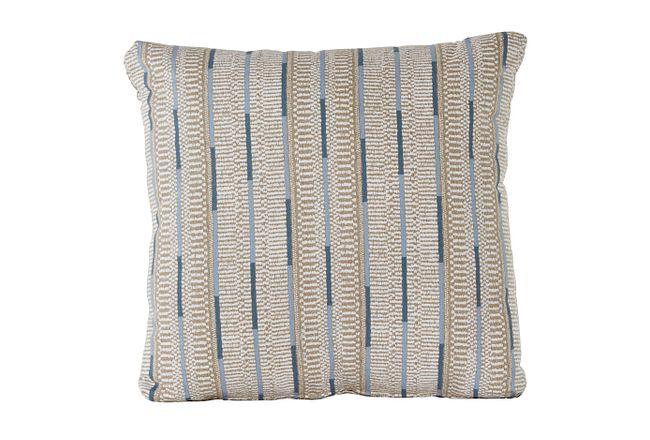 Ashanti Khaki Square Accent Pillow