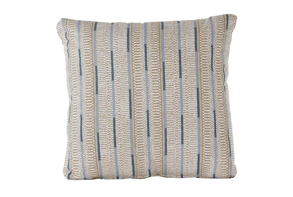 Ashanti Khaki Square Accent Pillow