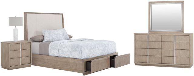 Gramercy Light Tone Uph Platform Storage Bedroom (2)