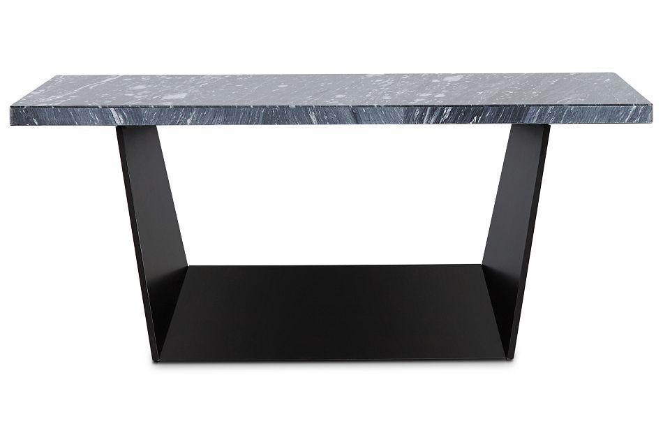 Auburn Dark Gray Marble Rectangular Table,  (1)
