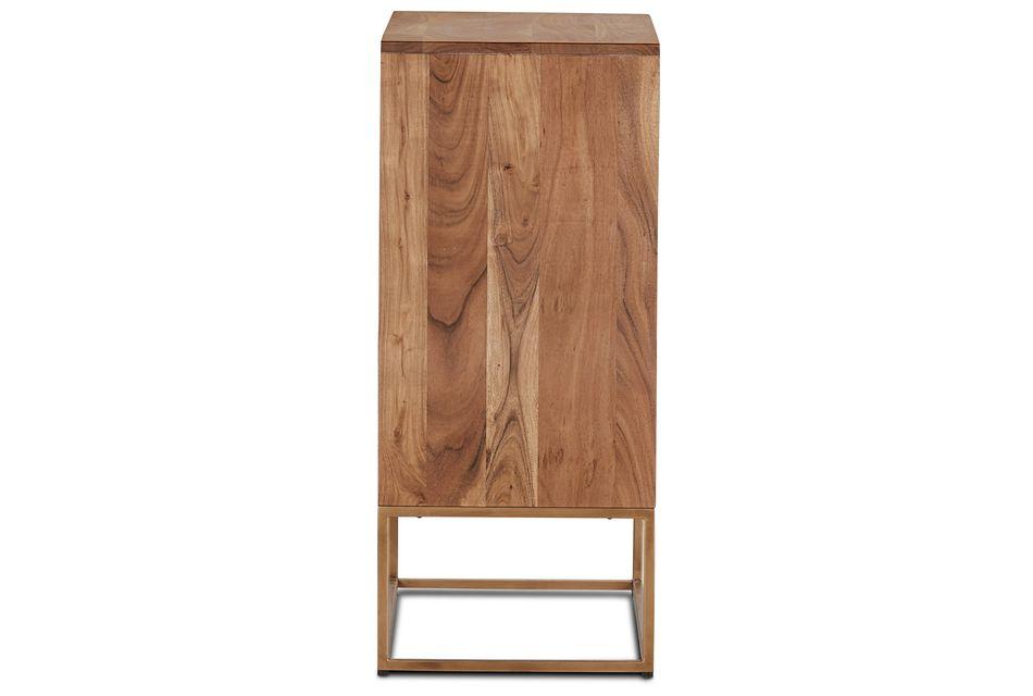 Nadir Mid Tone Two-door Cabinet