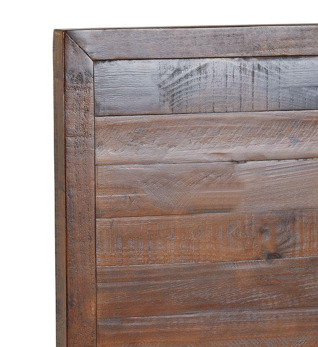 Seattle Dark Tone Wood Platform Storage Bed
