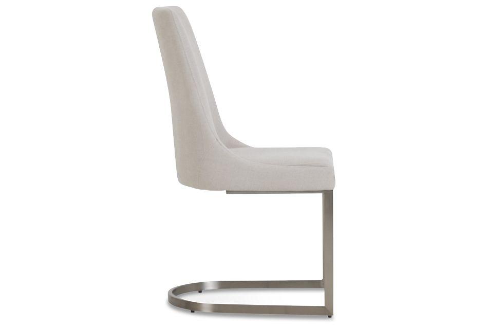 Madden Light Tone Upholstered Side Chair,  (2)