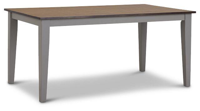 Sumter Gray Rectangular Table (2)