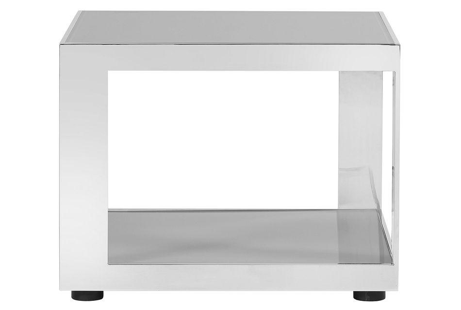 Harley Gray Metal End Table