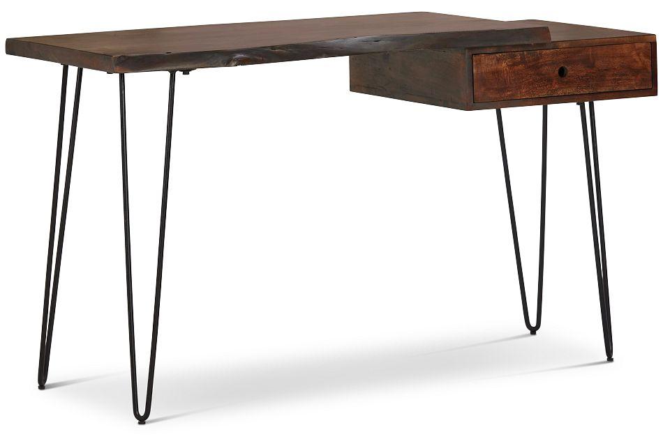 Nature Edge Dark Tone Desk,  (2)
