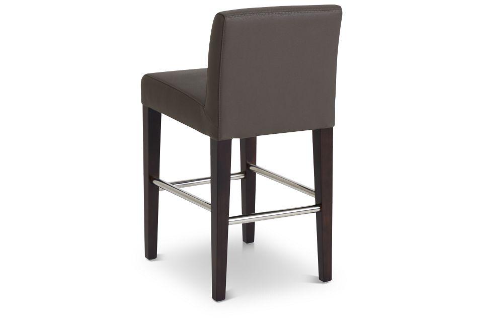 """Cane Graymicro 24"""" Upholstered Barstool"""