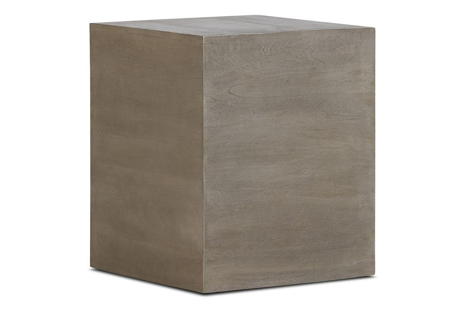 Ray Light Tone Square End Table