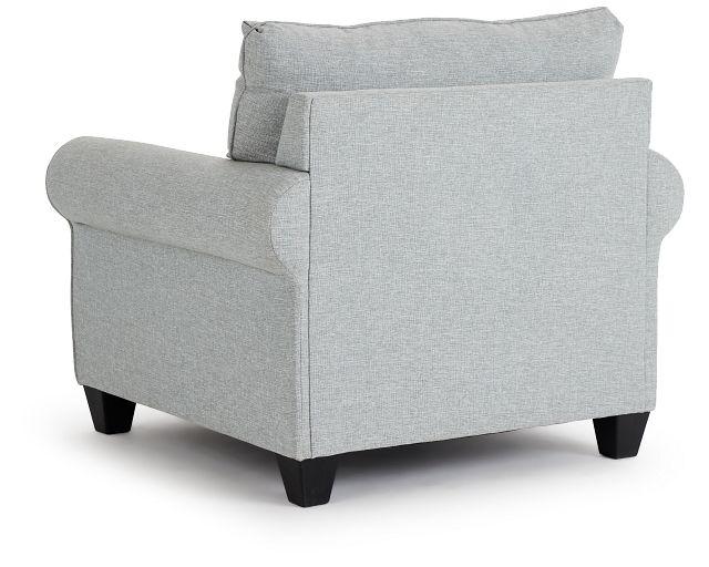 Meadow Light Blue Fabric Chair