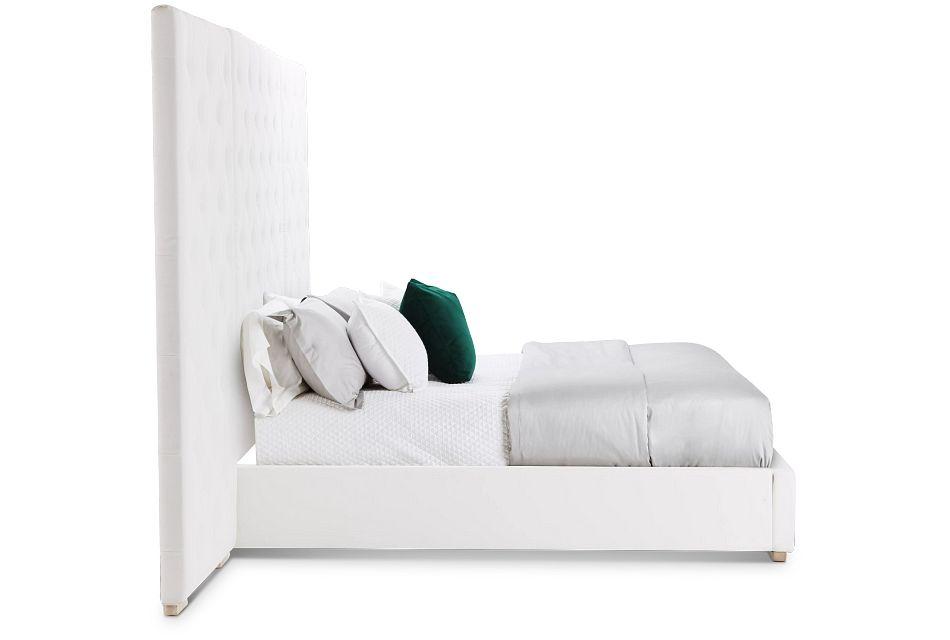 Berlin White Uph Spread Bed