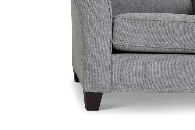 Maggie Light Gray Fabric Chair