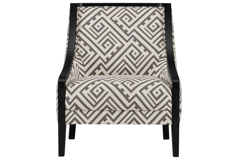 Tribeca2 Multicolored  Fabric Accent Chair