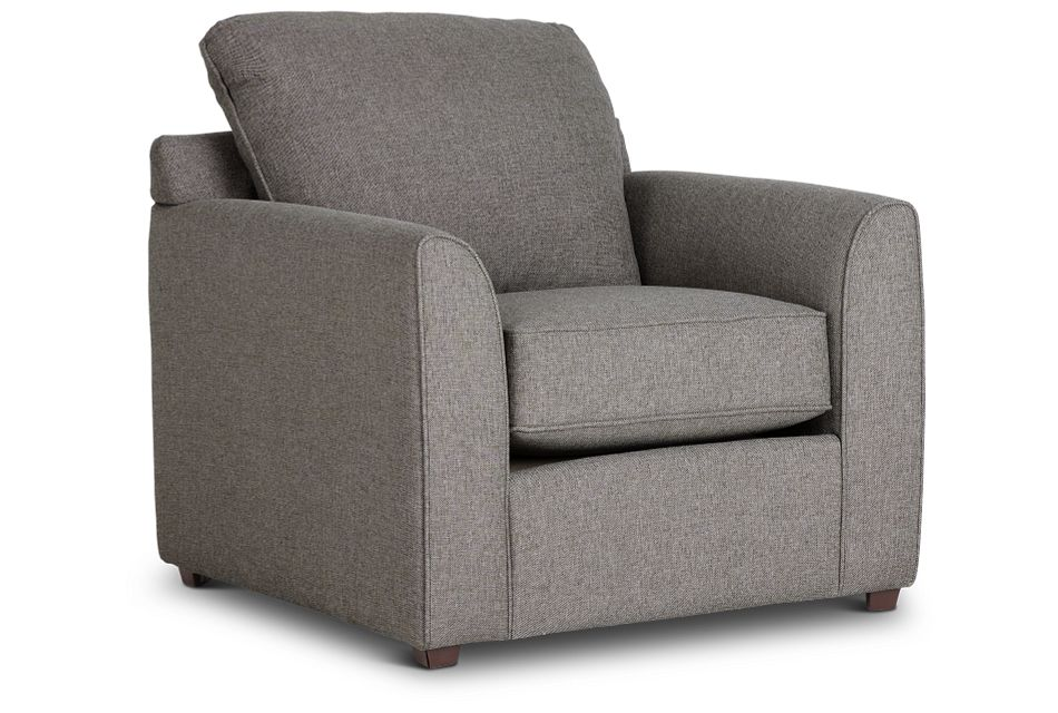 Asheville Brown Fabric Chair,  (1)