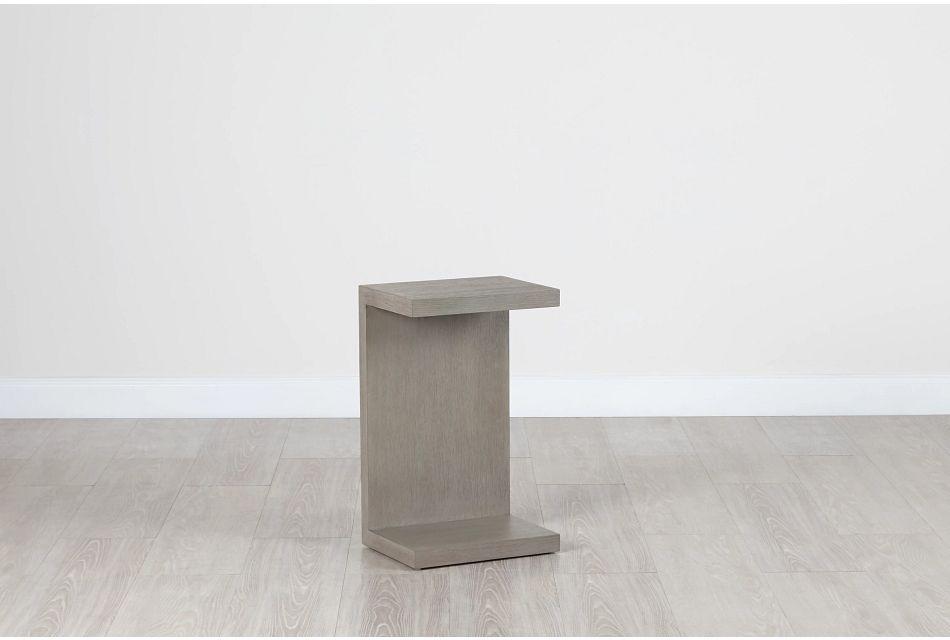Nixon Light Tone Chairside Table