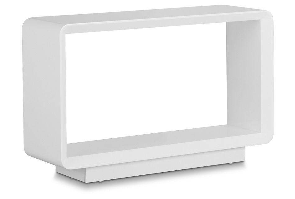 Zayden White Sofa Table,  (2)