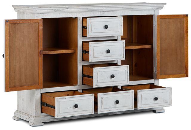 Davenport White Dresser