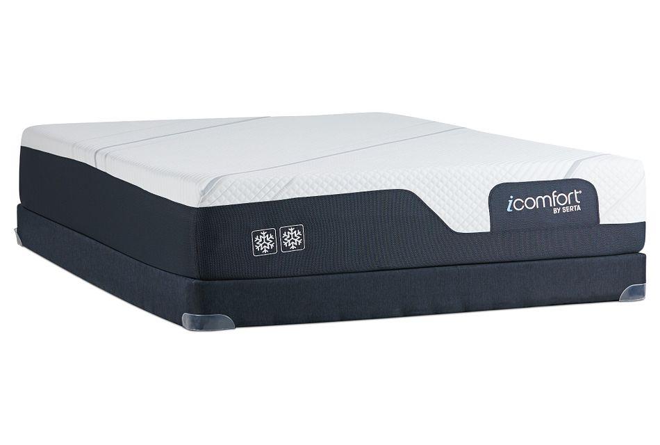 Serta Icomfort Cf2000 Firm Low-profile Mattress Set