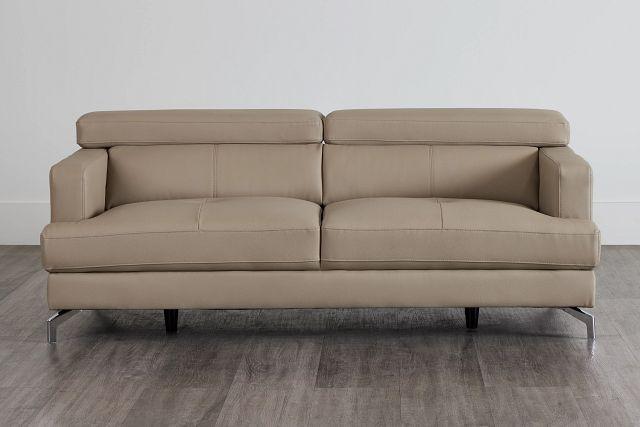 Marquez Taupe Micro Sofa (0)