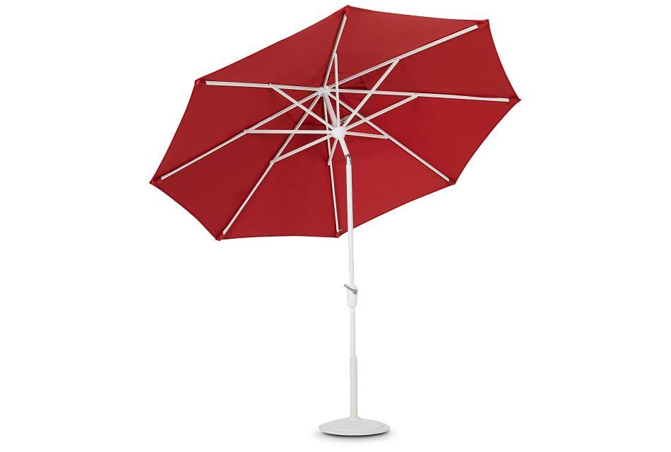 Capri Red Umbrella Set,  (2)