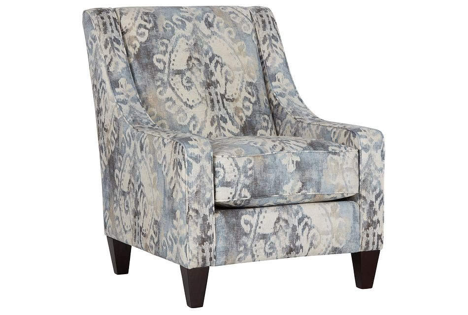 Soledad Gray Fabric Accent Chair
