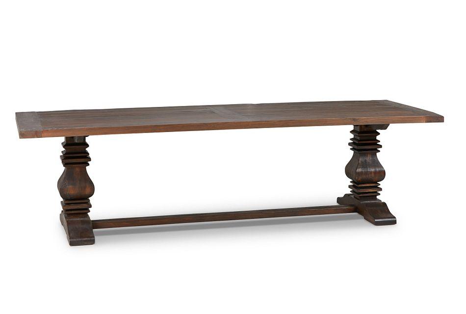 "Hadlow Mid Tone 110"" Rectangular Table"