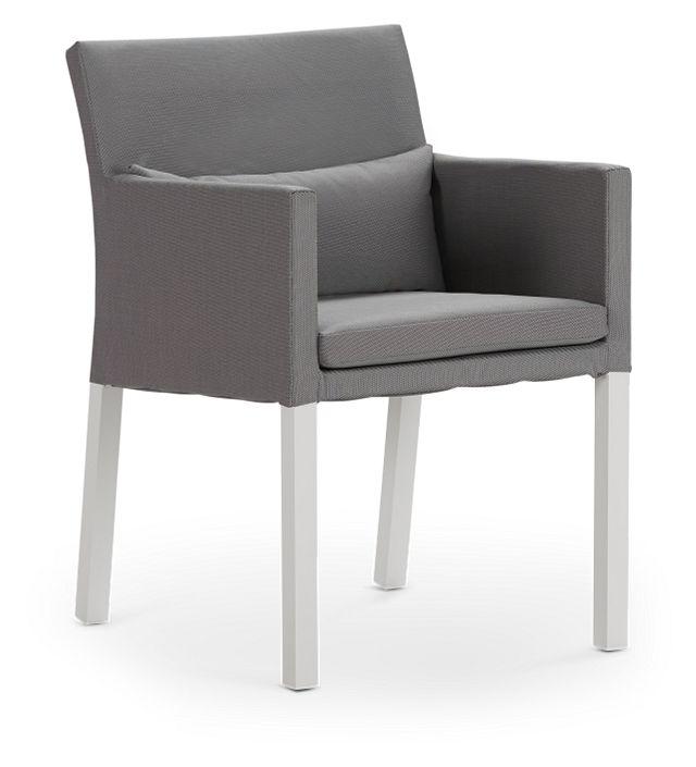 Lisbon Gray Cushioned Chair (0)