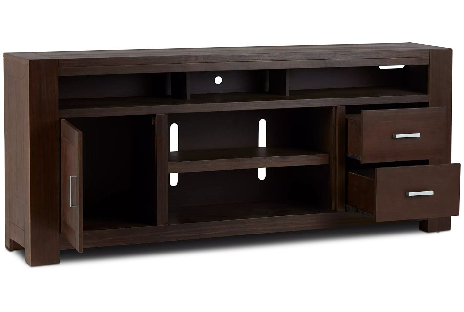 "Empire Dark Tone 84"" Tv Stand"