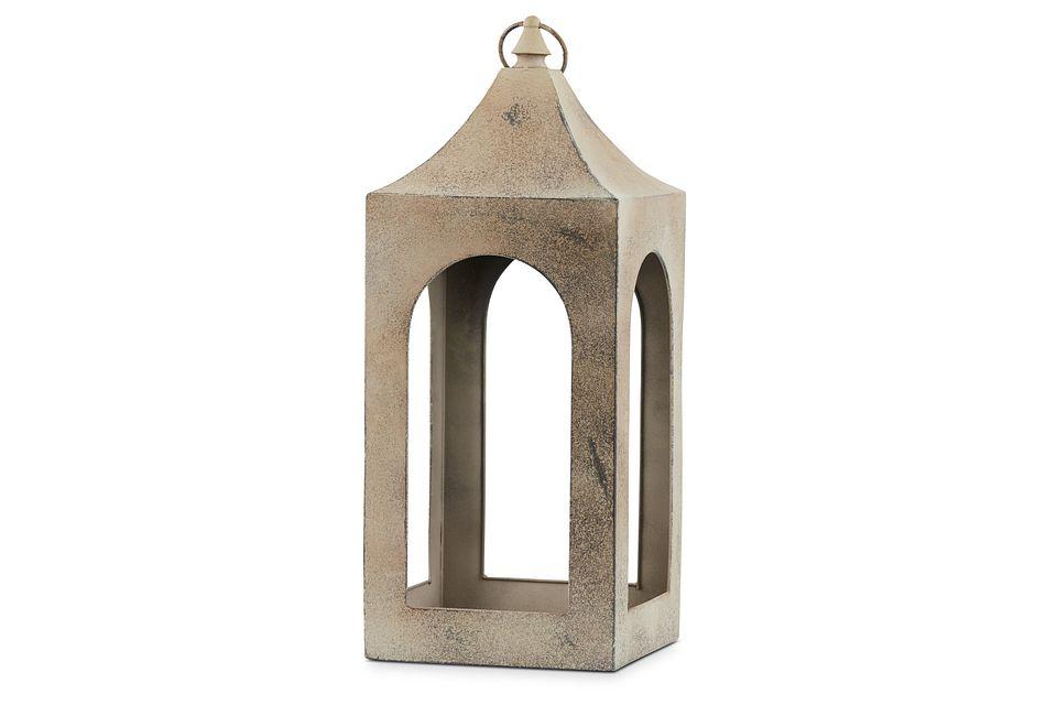 Boston Metal Large Lantern