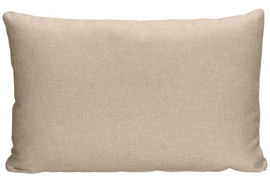 Harper KHAKI FABRIC Rectangular Accent Pillow,  (0)