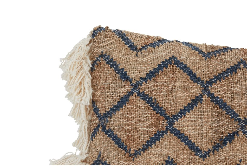 Issac Natural Accent Pillow,  (1)
