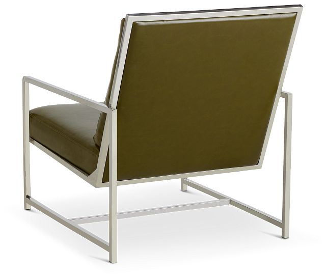 Harvey Green Uph Accent Chair