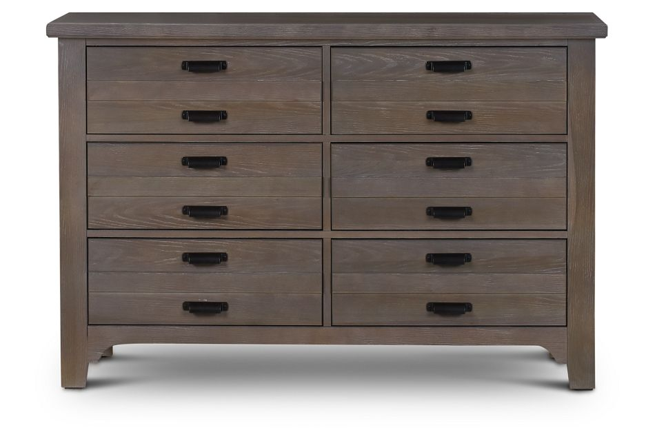 Bungalow Mid Tone 6-drawer Dresser