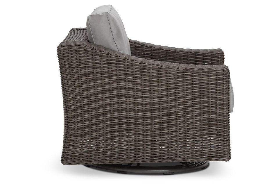 Canyon Gray Swivel Chair