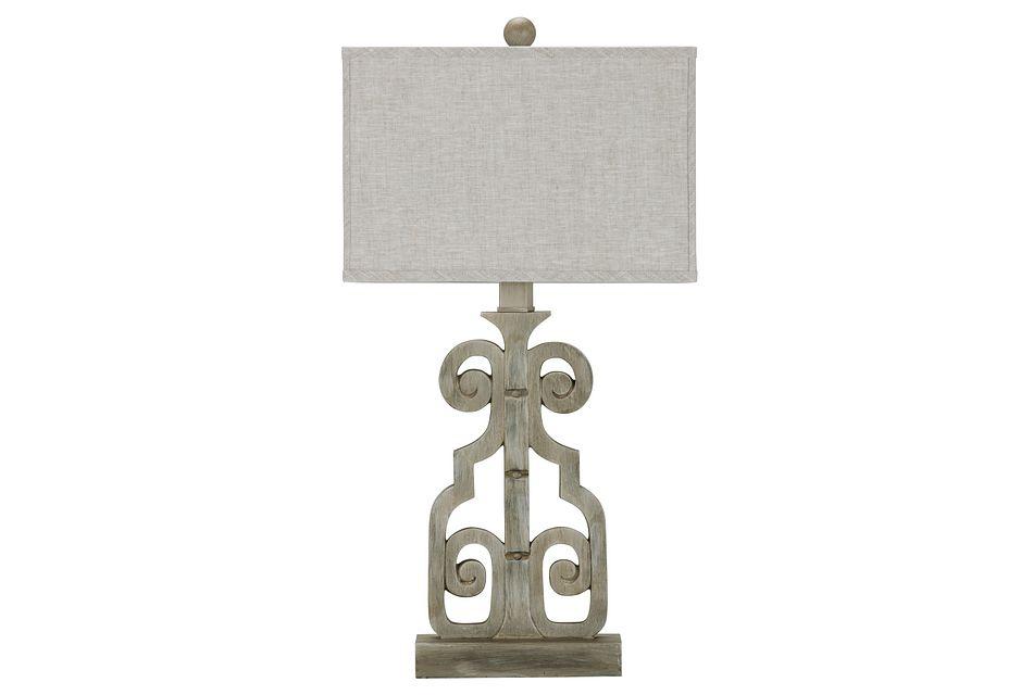 Braylin Light Gray   Table Lamp,