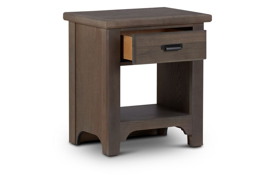 Bungalow Mid Tone 1-drawer Nightstand