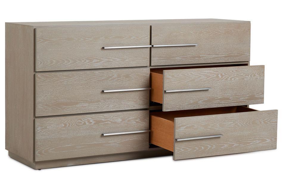 Destination Light Tone Drawer Dresser