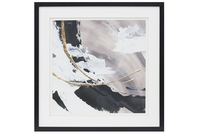 Dakota3 Black Framed Wall Art