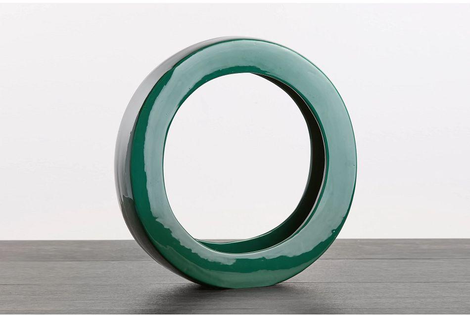 Zane Green Vase