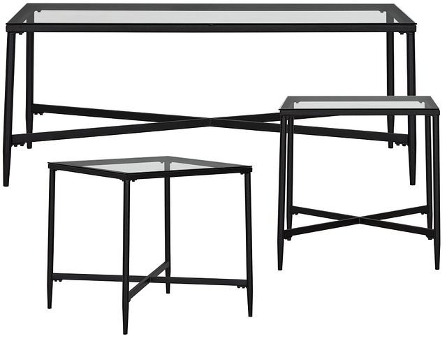 Augeron Glass 3 Pack Tables (0)